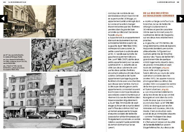 Ces rues qui racontent Paris de Michaël Darin : Belleville