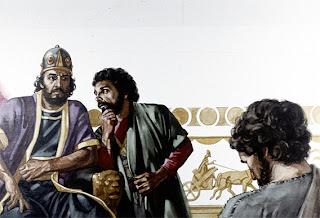 撒下16 -- 亞希多弗的計謀 ~ 和平教會 樂活讀經