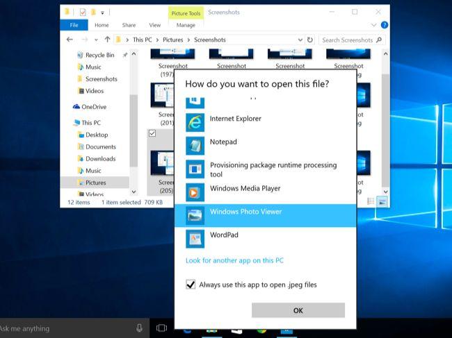 كيفية إسترجاع عارض الصور Windows Photo Viewer الخاص بويندوز 7 في ويندوز 10