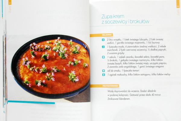 Zupa z soczewicy i brokułów