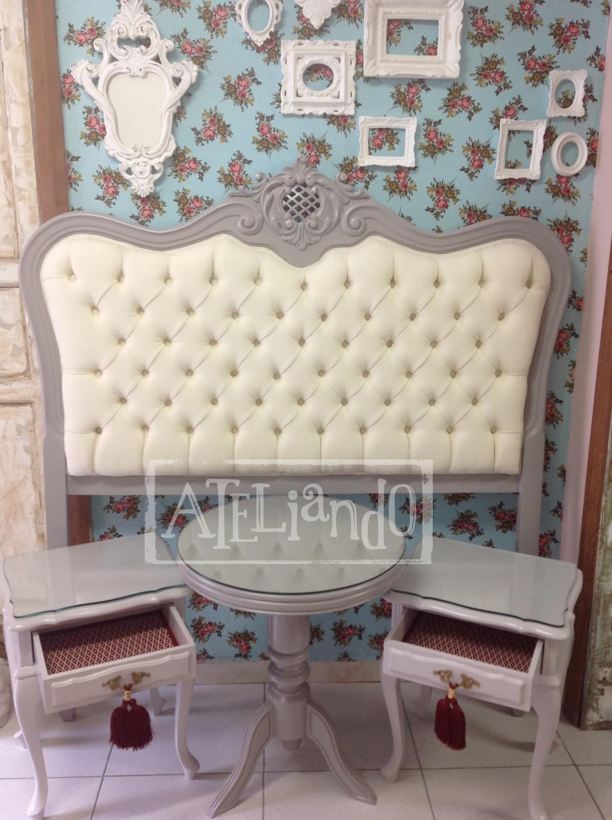 Ateliando - Customização de móveis antigos: Provençal