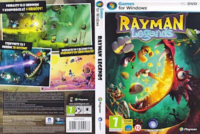Jogo Rayman Legends PC DVD Capa
