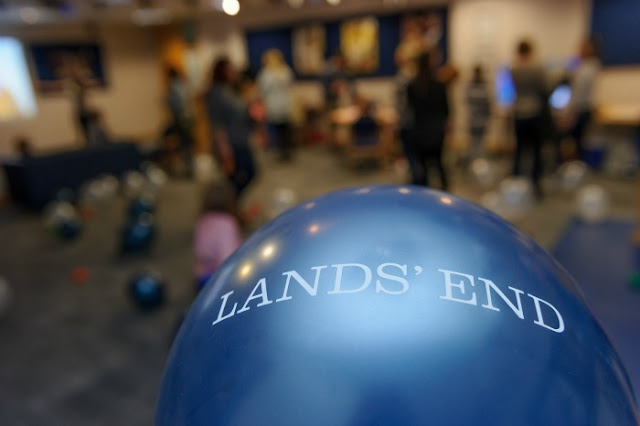 A Styling Event with Lands' End | Morgan's Milieu: Balloons galore at the Lands' End Event.