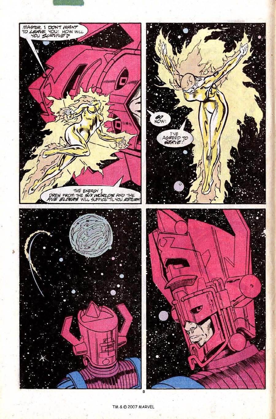 Read online Silver Surfer (1987) comic -  Issue #10 - 12