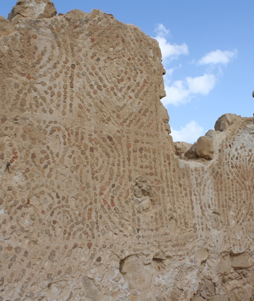 masada mosaic walls