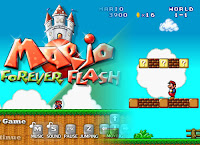 Ever wonder what an infinate number of #Mario levals would look like? Well ckeck out Mario forever Flash! #MarioGames