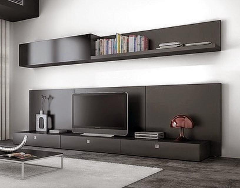 Cym amoblamientos racks modernos for Modelos de muebles modernos para living