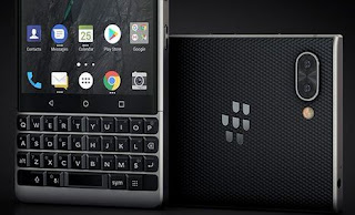 Black BlackBerry Key2 leakes Storage and lunching date