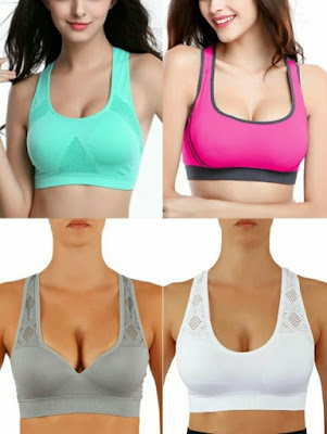 b718c45a00352 Want a figure-enhancing sports bra  These are the very best padded push-up  sports bras that will make you look pretty as you workout.