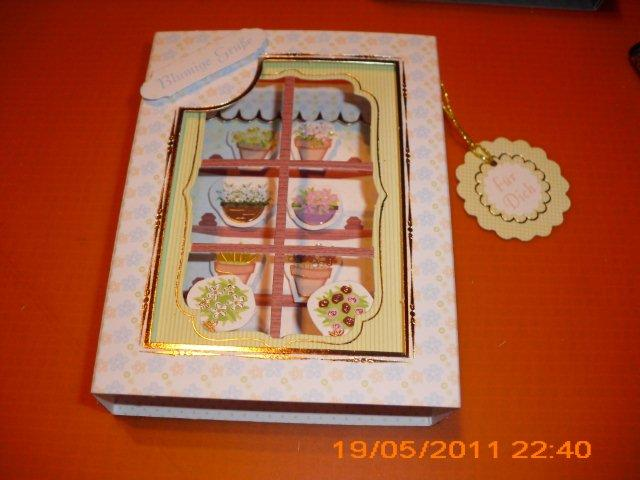 brchens Bastelstube Karten aus Kanbanpapieren