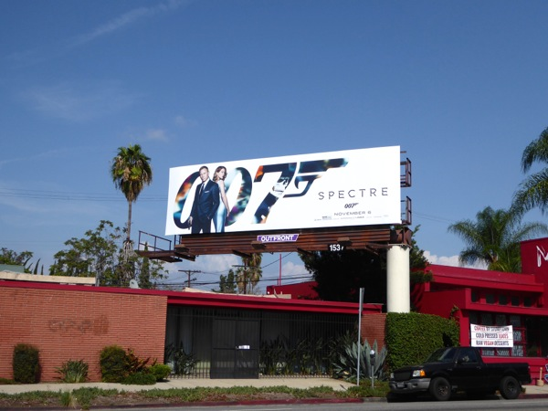 Spectre 007 billboard