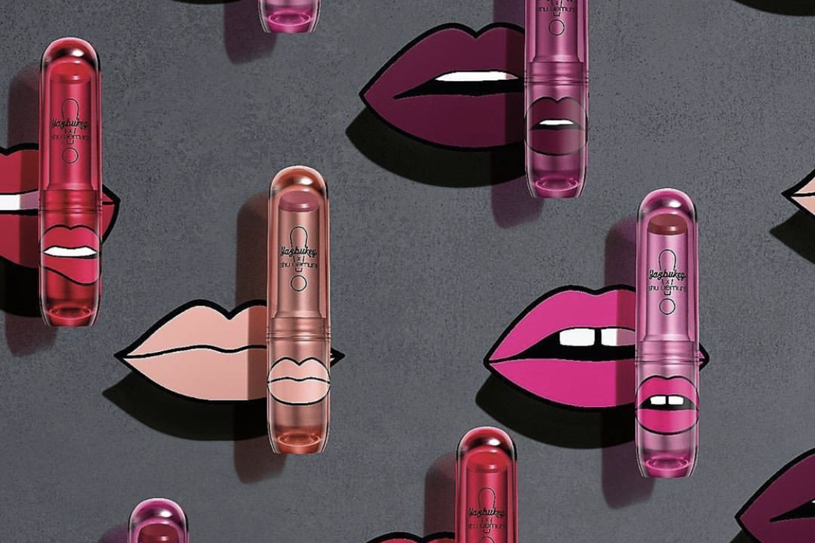 shu uemura yuzbukey matte lipstick spring printemps 2018
