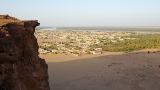 Onto the village of Karima, 400km from Khartoum