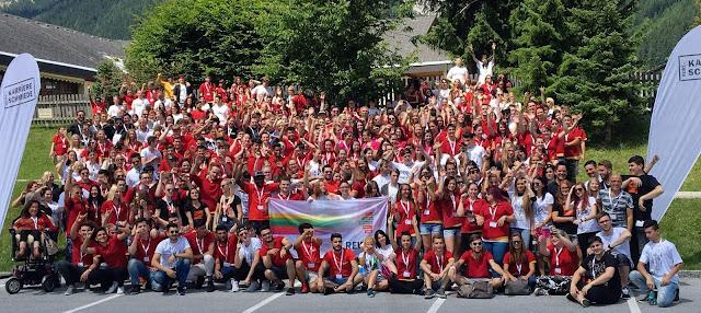 Conout Österreich Outdoor Team Building - Entwicklung mit 200 Teilnehmer