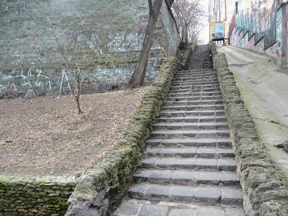 Одесса. Лестница к Польскому спуску – «Лестница мёртвых»