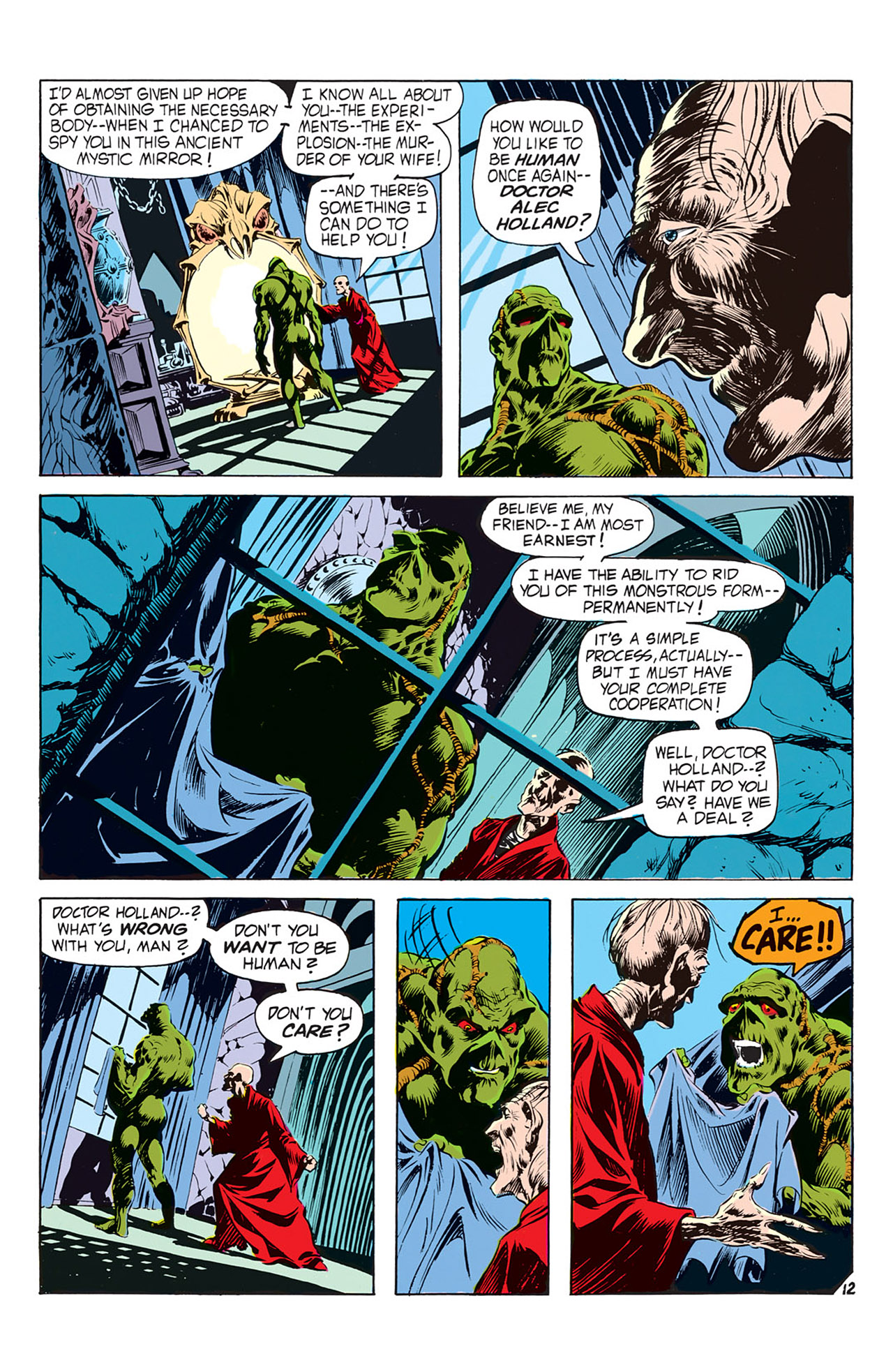 Swamp Thing (1972) Issue #2 #2 - English 13