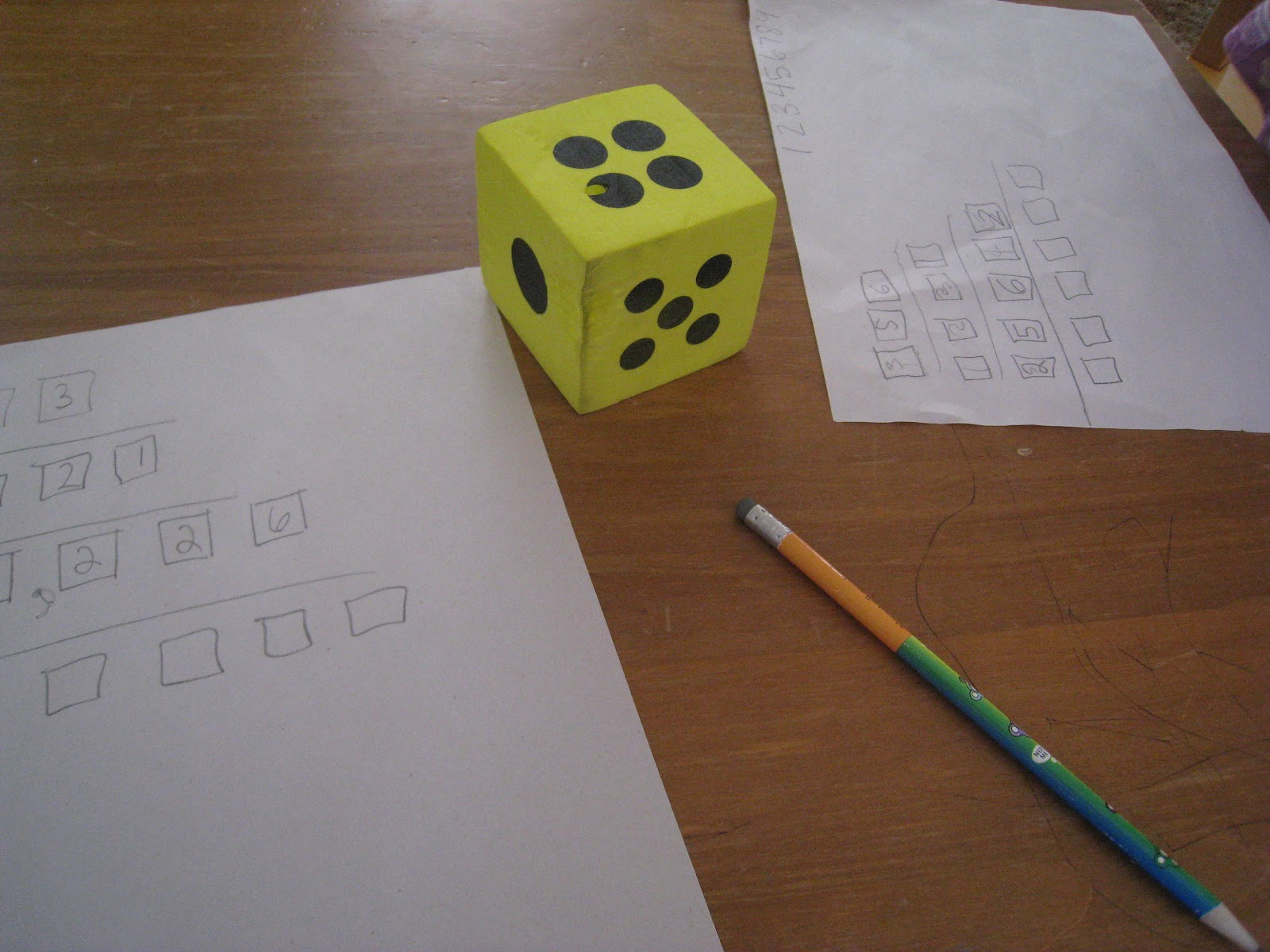 Roll Amp Place The Digits Dice Math Game