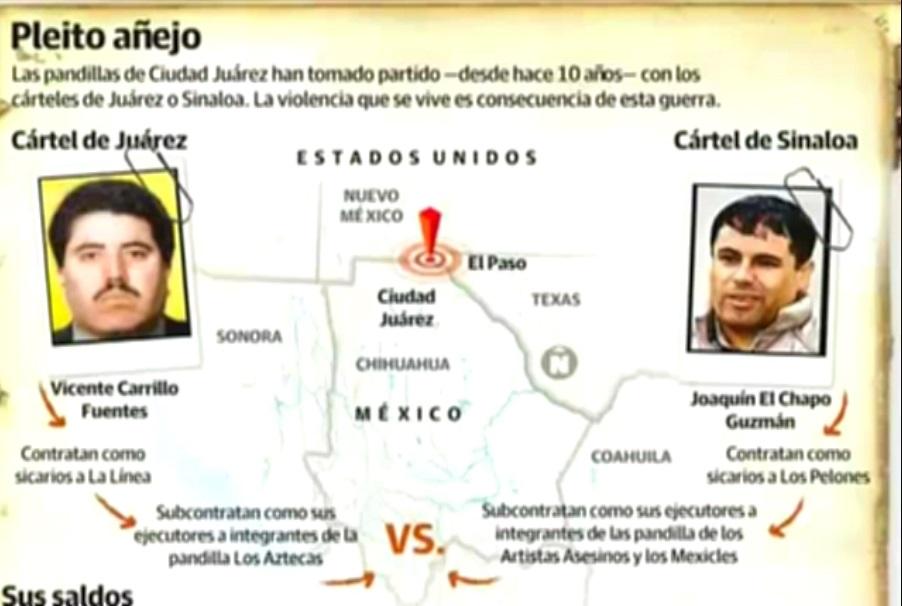 Mexico : New Juarez Cartel Leader 'Ugly Betty' Alberto