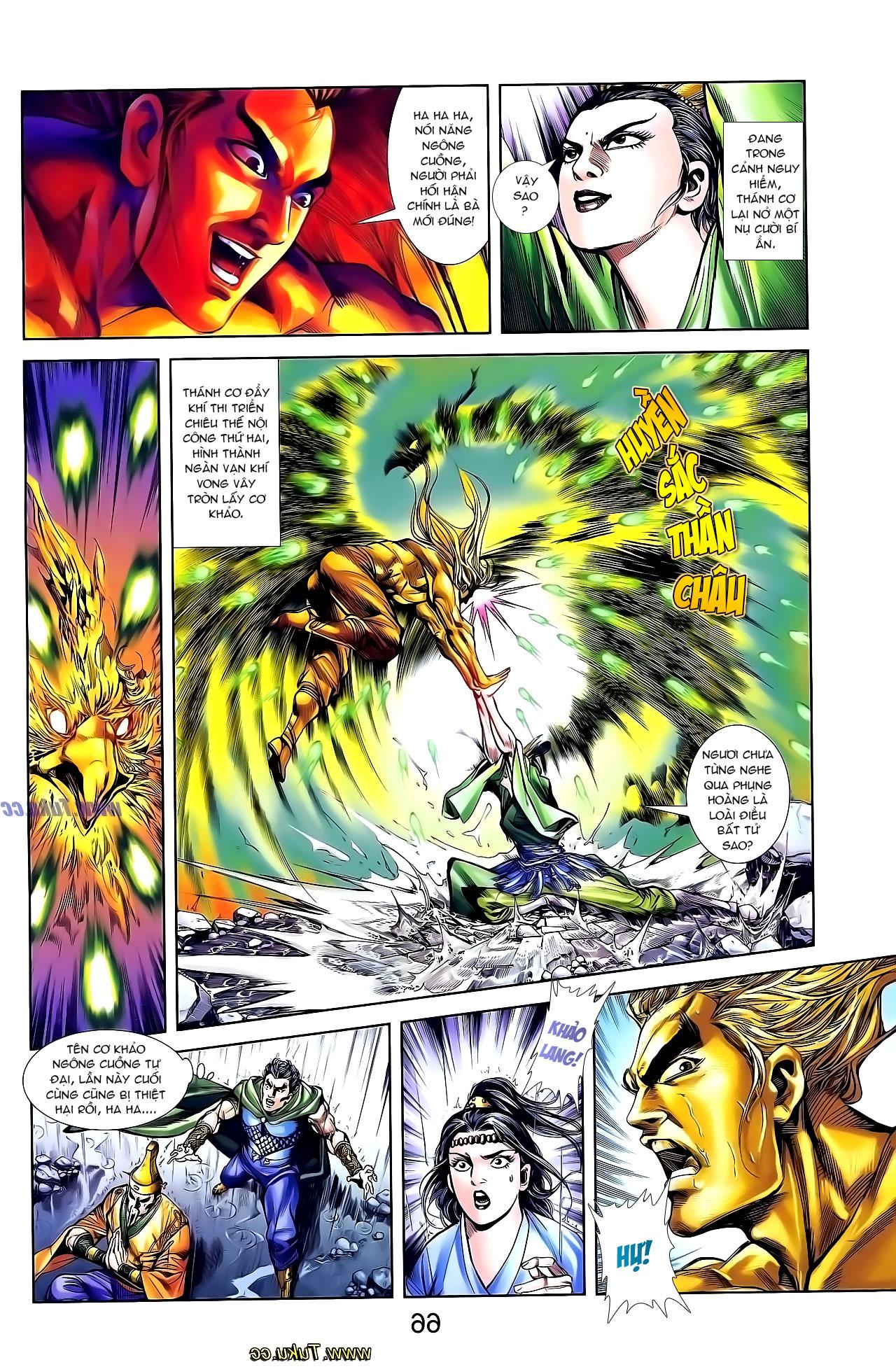 Cơ Phát Khai Chu Bản chapter 131 trang 6