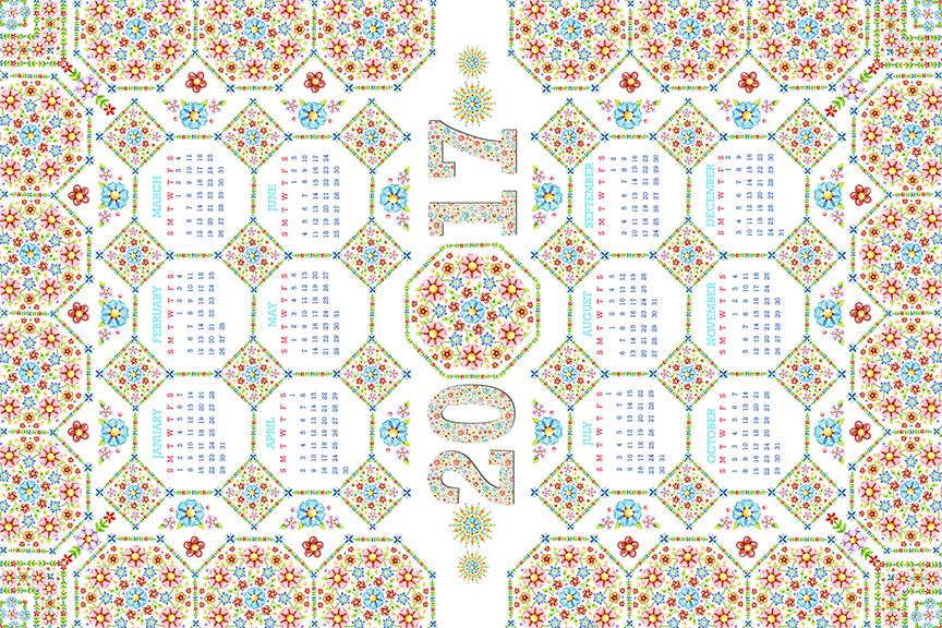 Calendar Design Ks : Patternpatisserie