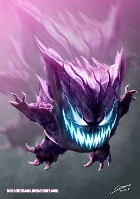Pokemon Gengar