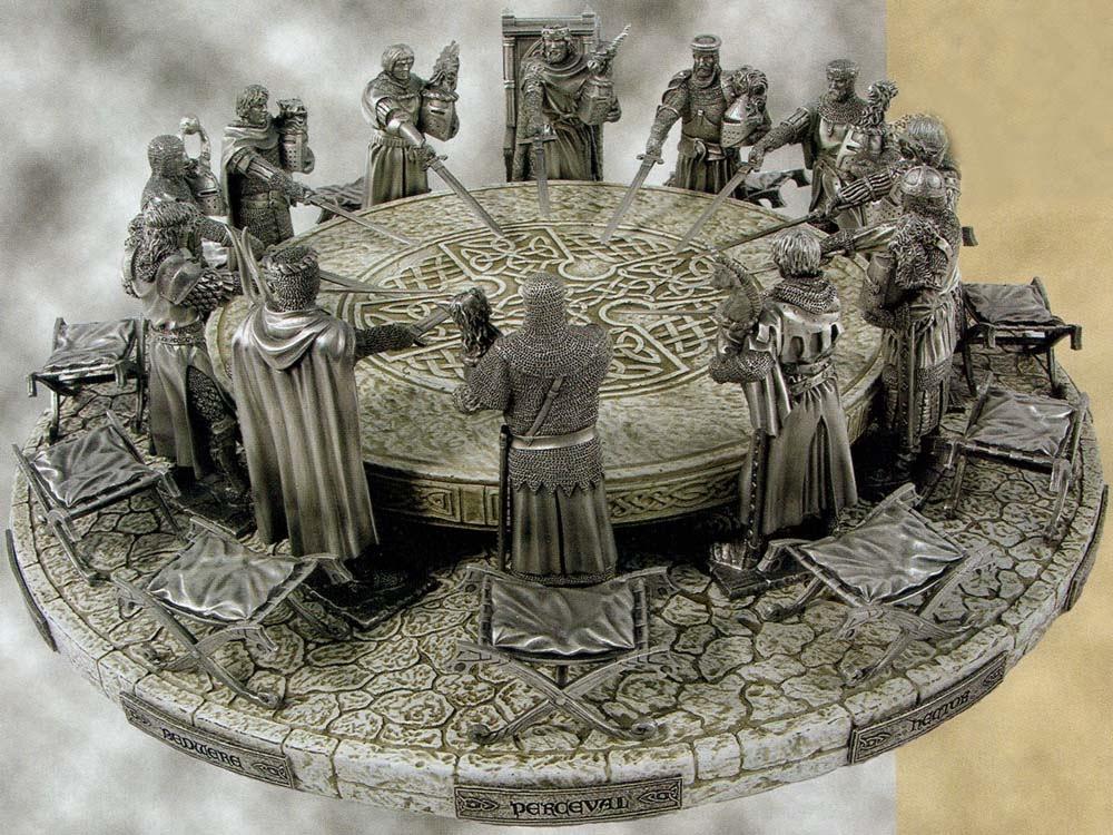 Ronde Tafel Koning Arthur.Mens In Dialoog Het Rondetafelgesprek