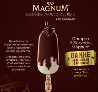 Cadastrar Promoção Kibon Magnum Compre Ganhe Ingresso Cinema