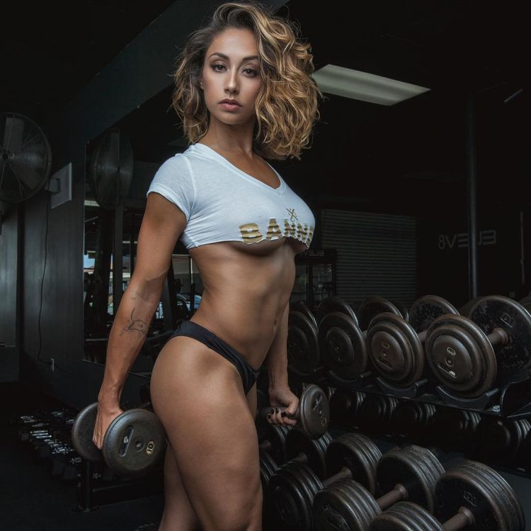 Michelle Janine a professional dancer, fitness model, sponsored athlete, and trainer/instructor,