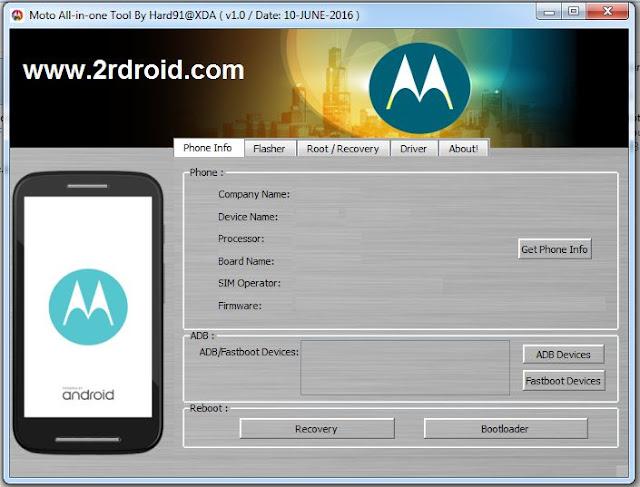كيفية عمل روت و تركيب الريكوفرى لجميع اجهزة موتورولا (Motorola)