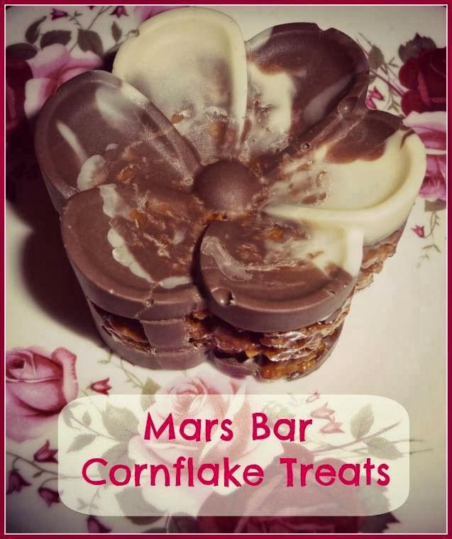 Mars Bar Cornflake Treats: Creative Mondays Blog Hop