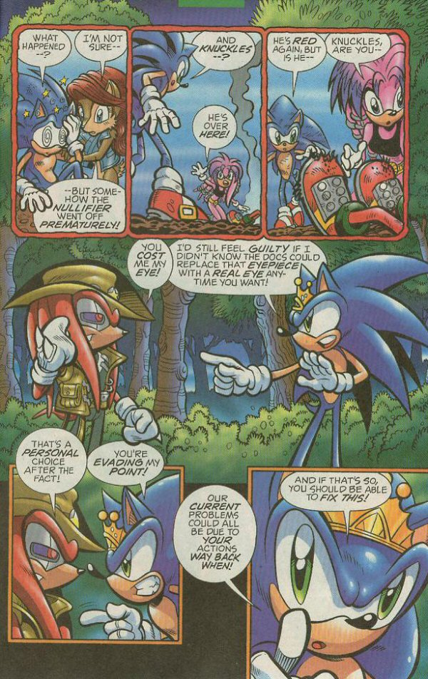 Read online Sonic The Hedgehog comic -  Issue #140 - 23