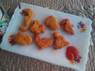 Chicken Nugget Rasa Pizza SO GOOD Setelah digoreng