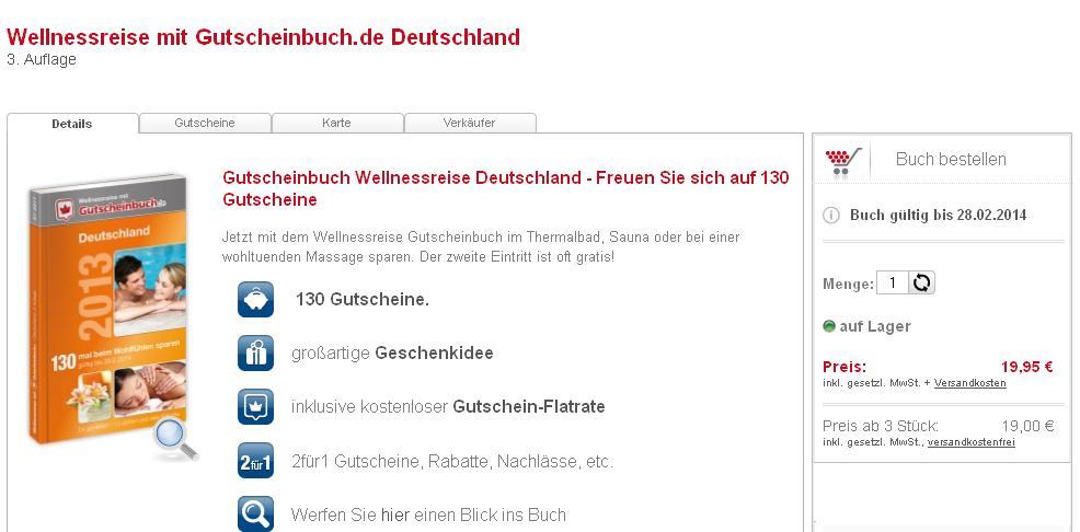 Produkttest: Gutscheinbuch.de (Teil 5)
