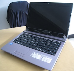 jual laptop second acer aspire 4352