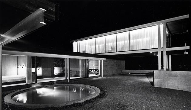 """Geir Grung, """"Own house at Jongskollen"""", 1963. Photo Johan Brun"""