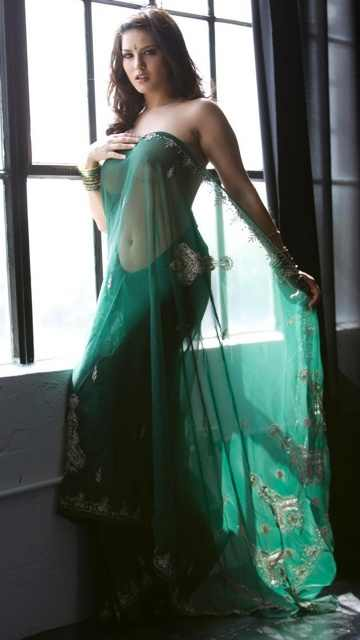Sunny Leone Sexy Video Saree