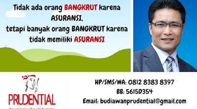 agen asuransi pendidikan berlisensi prudential wilayah kota medan dan sekitarnya
