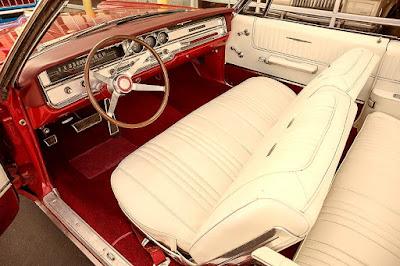 1965 Pontiac Bonneville Convertible Interior Cabin