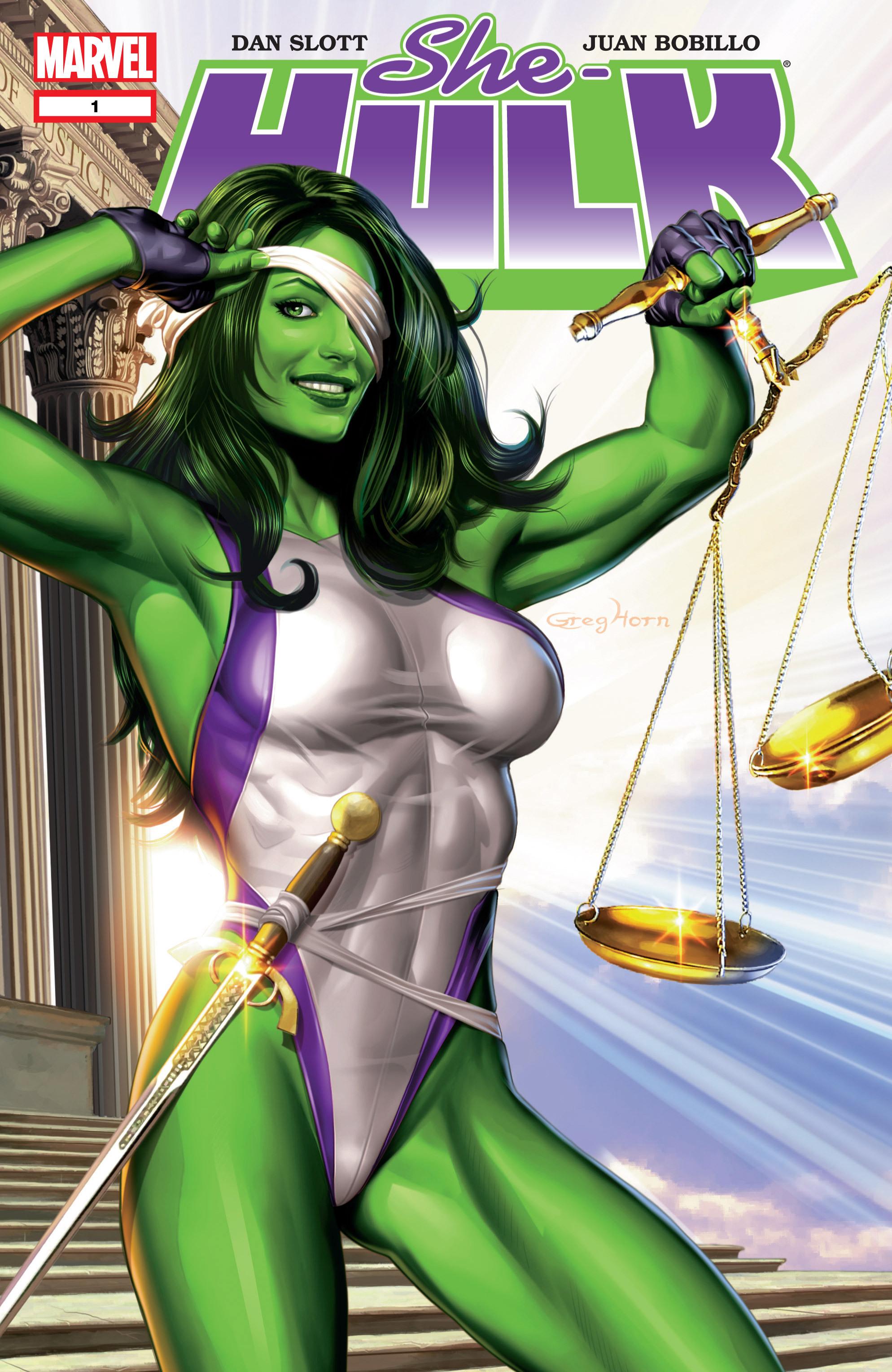 Read online She-Hulk (2005) comic -  Issue #1 - 1