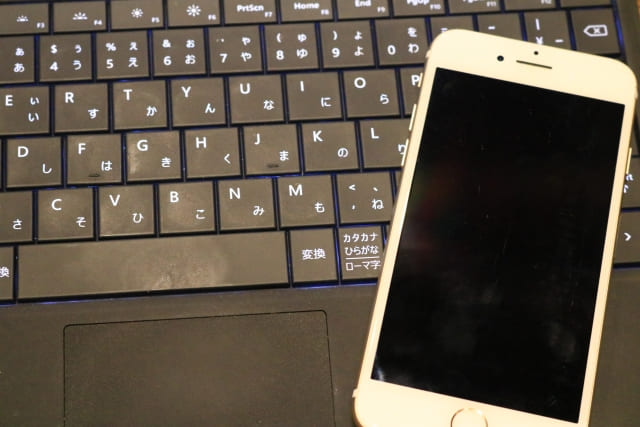 PCとiPhone