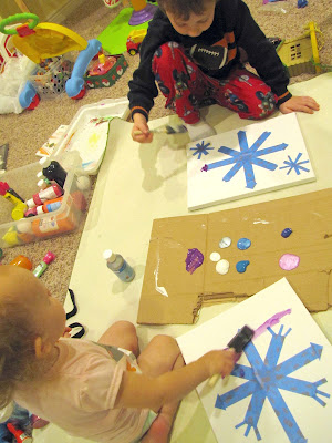 Snowflake Craft Project for Kids