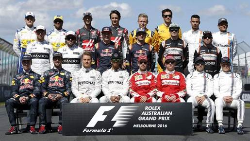 Formula 1 Grand Prix Australia, 20 Maret 2016