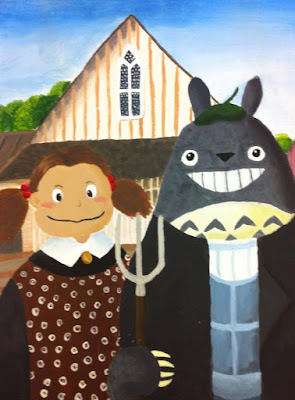 Artist Spotlight: Totoro Gothic by Katie Wu