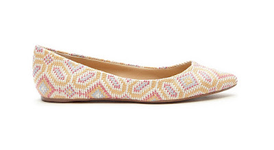 Cute and affordable shoes Sole society multi colored slip on flat