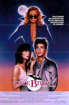 Once Bitten 1985 DVD R1 NTSC Latino