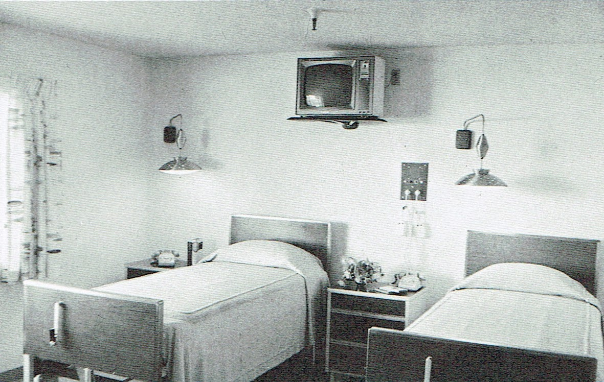 from the 1960s brochure for the White Angel Inn in Phoenix Arizona