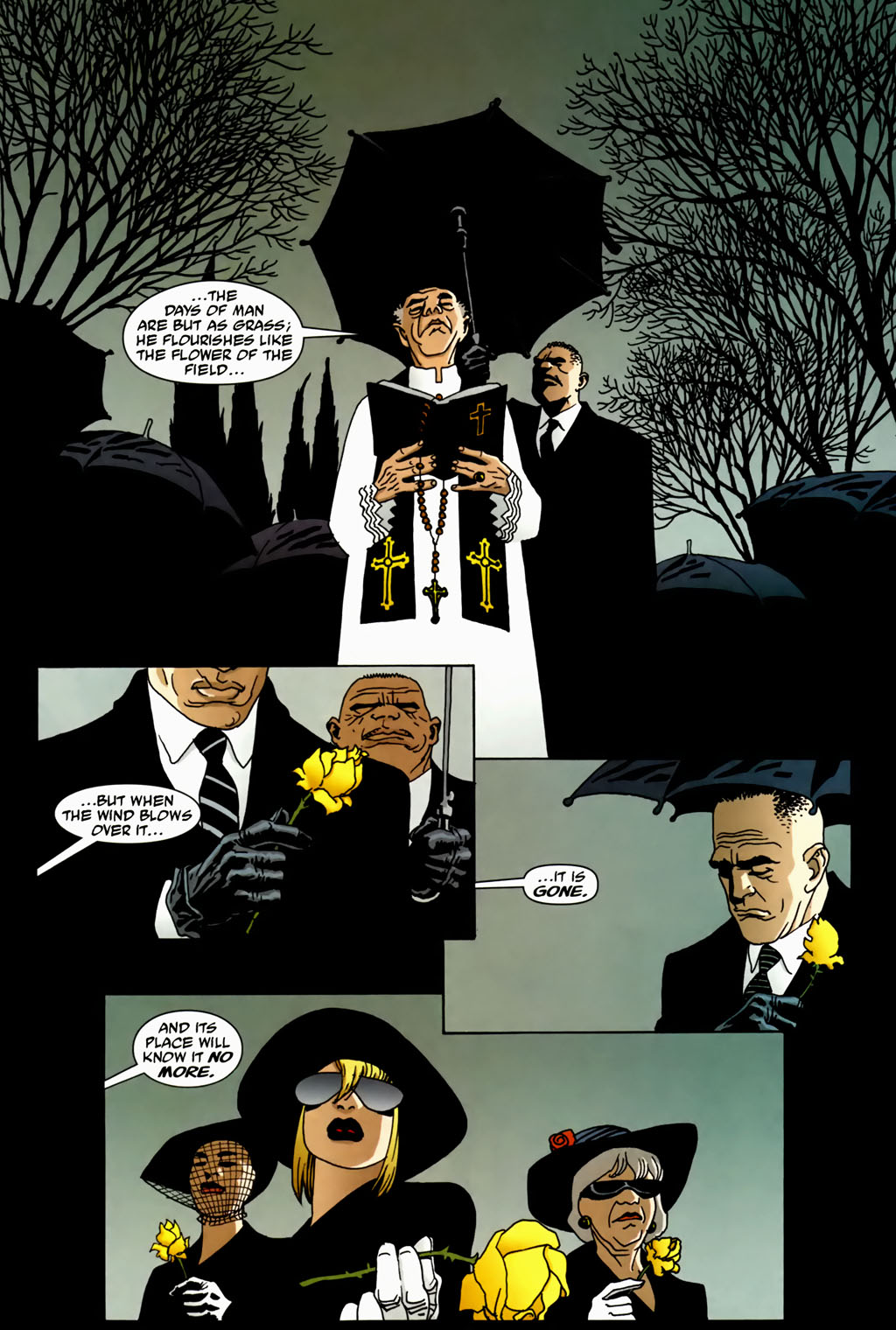 Read online 100 Bullets comic -  Issue #70 - 2