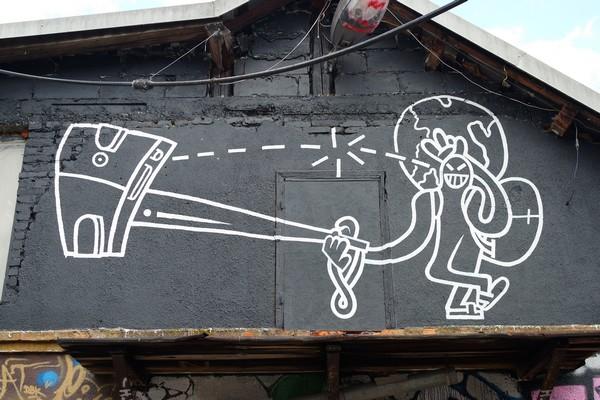 ljubljana street art centre Metelkova