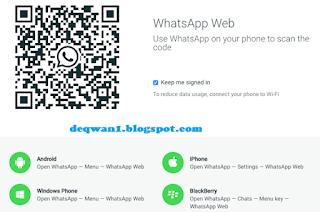 Cara Melihat Kode QR Akun Whatsapp