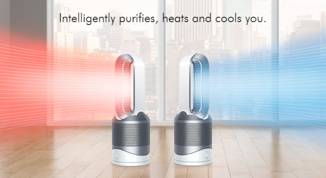 New Dyson Pure Hot + Cool Link, Intelligently purifies your
